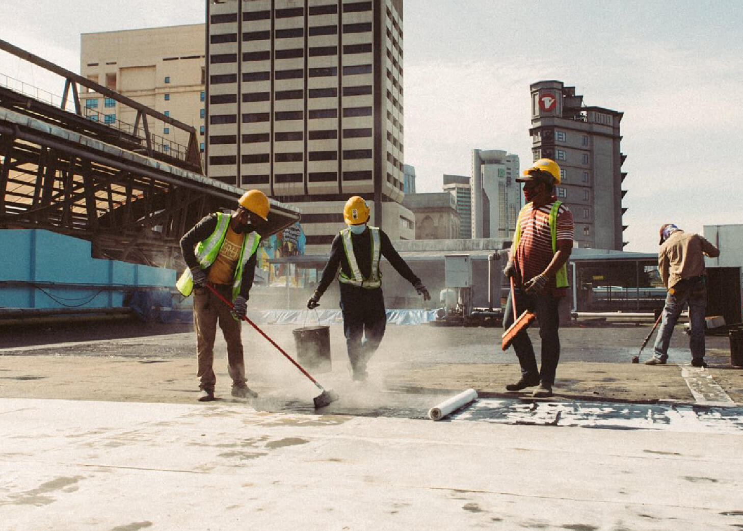 Our Waterproofing Specialist Experience in Kuala Lumpur, Central Market